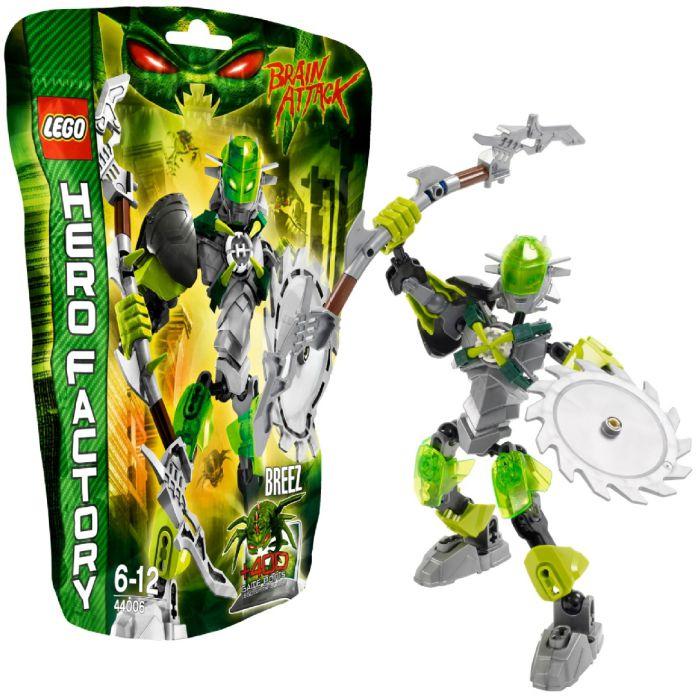 Children S Lego Lego Hero Factory Breez Para Armar Muneco Verde