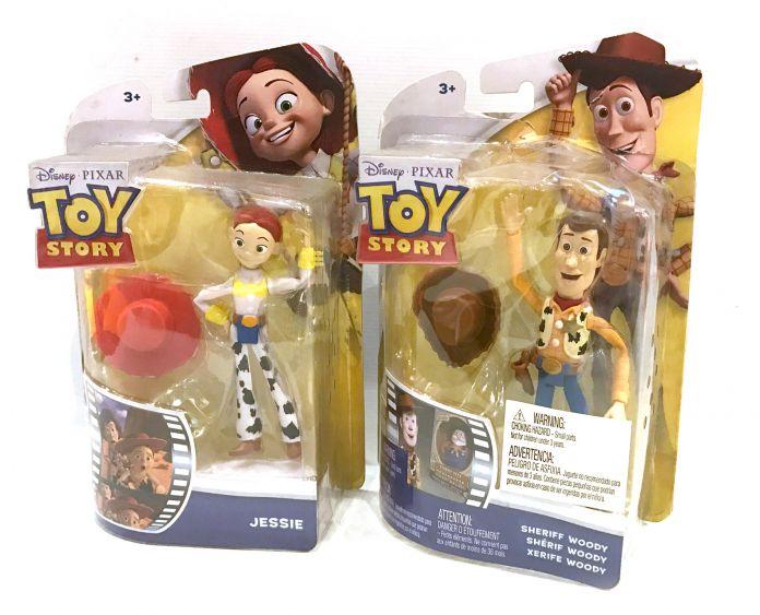 Mattel Toy Story muñeco Articulado pequeño Woody Buzz la Vaquera el caballo  o el dinosaurio 1bf6befb6dd