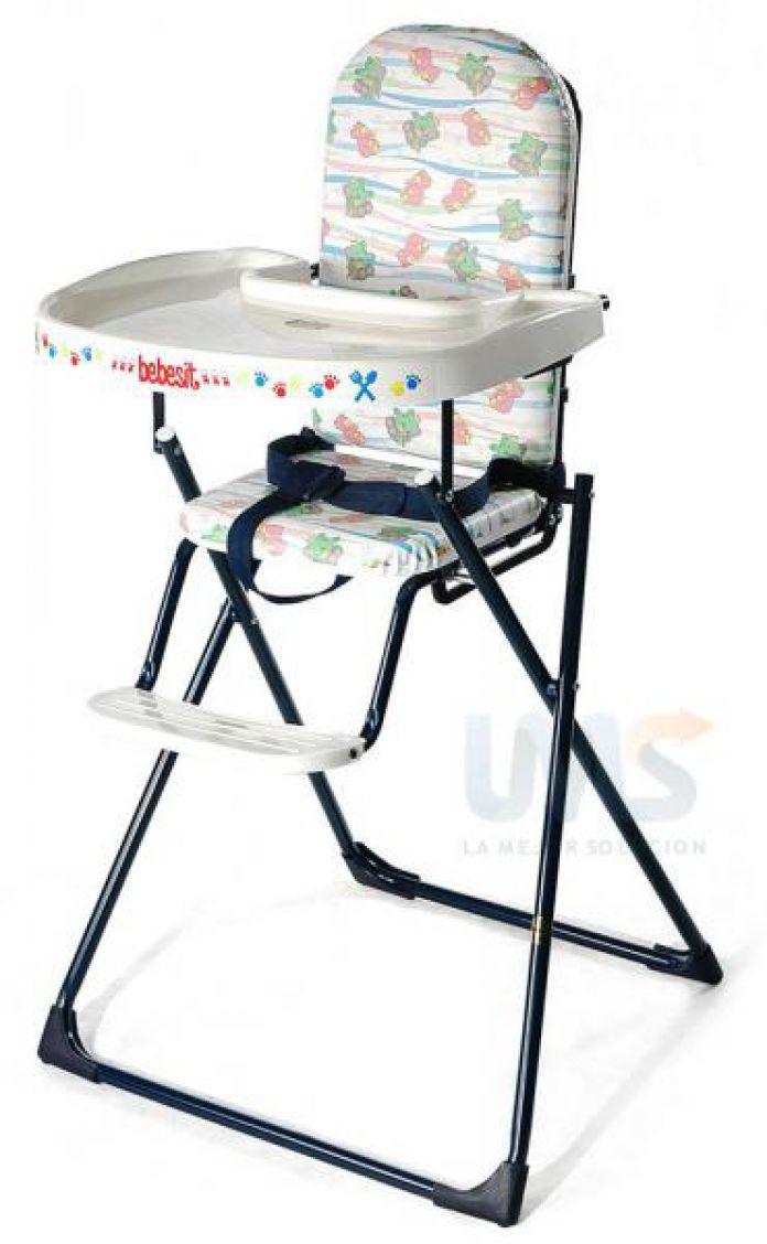 Children 39 s bebesit bbsit silla alta para comer plegable - Silla alta plegable ...