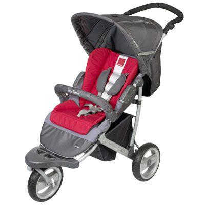 Children 39 s maclaren cochecito 3 ruedas mx3 jogger scarlet for Cochecitos maclaren precios