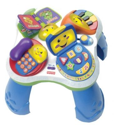 Children 39 s fisher price mesa didactica musical aprende for Mesa fisher price