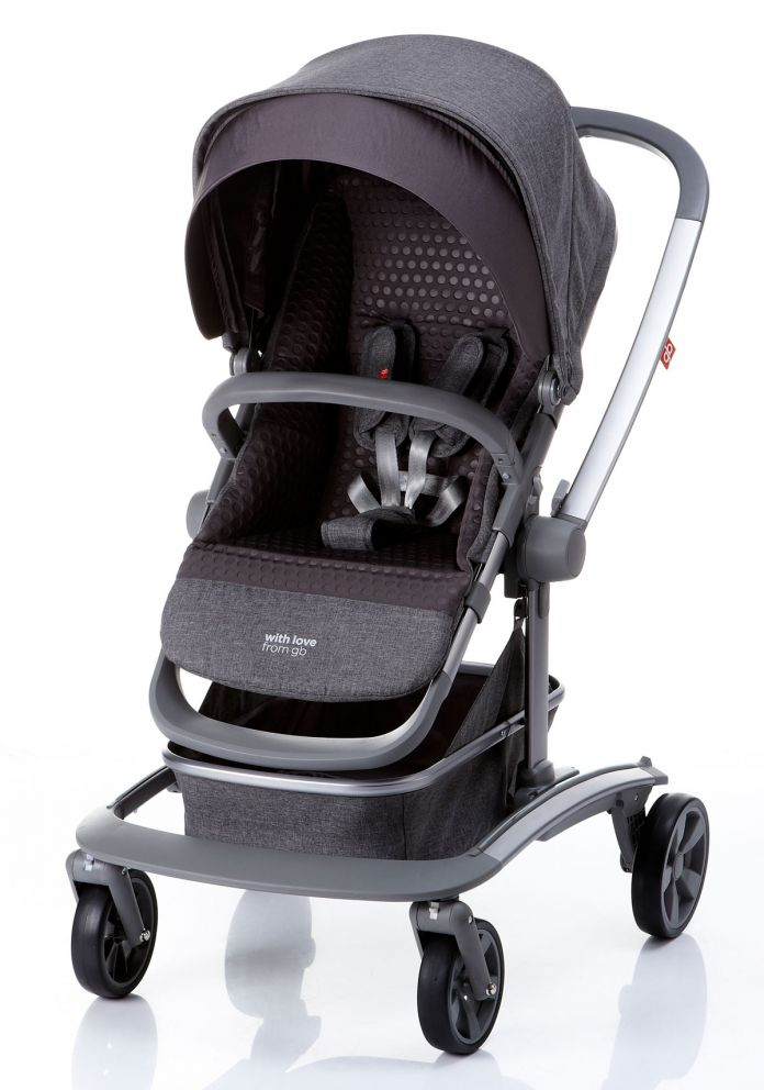 c0a2a16ef Children's - GB coche reversible - mecedor - gris