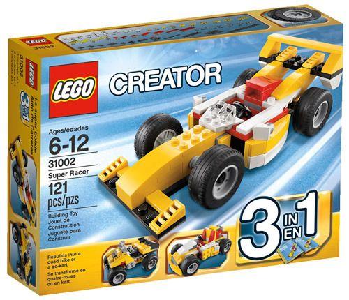 Children S Lego Creator 3 En 1 Para Armar 3 Autos Distintos
