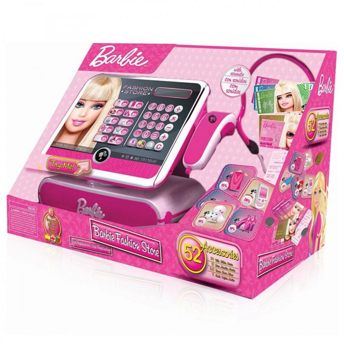 Barbie - Caja registradora Fashion (Lexibook RPB554) 30