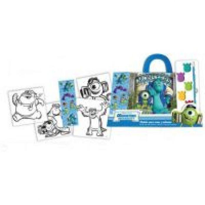 Children\'s - Maletin Disney para crear y colorear acuarela stickers ...