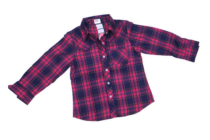 a11abc167 Children s - Camisa Manga Larga De Viyela Escocesa Nena