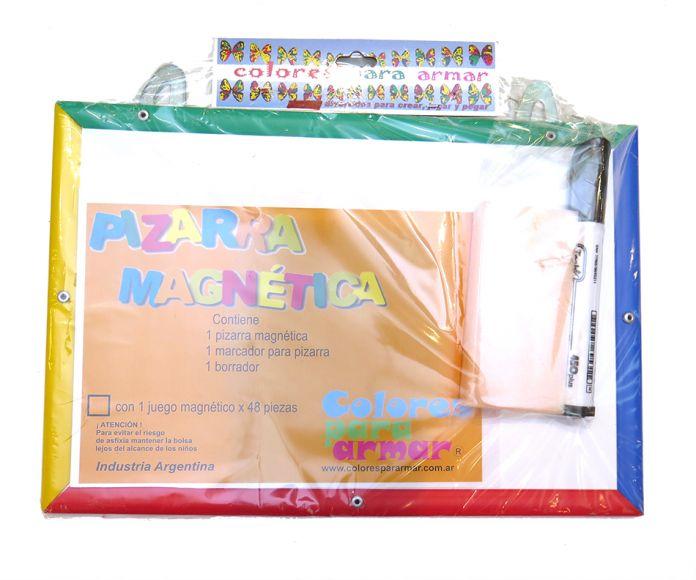 Children\'s - Pizarra Pizarron magnetica con marco pvc con borrador y ...