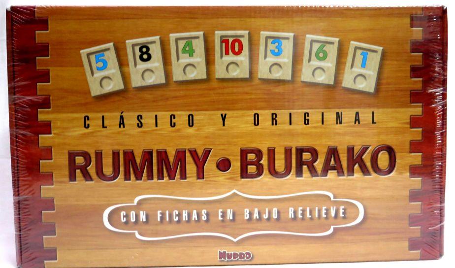 Children S Nupro Juego De Mesa Rummy Burako