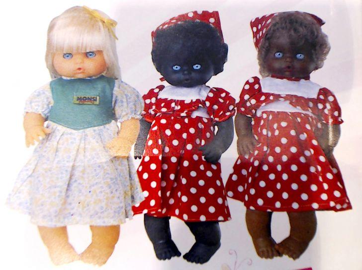 2ad23a39a Muñecos Camila Blanca, Negra o Chocolate (en Bolsa) - Bebote - Muñeca - Bebe