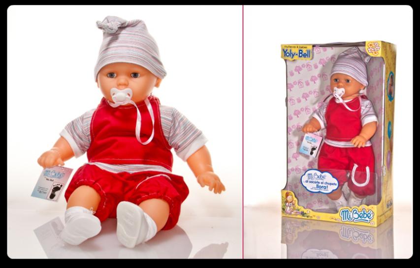 2b5d1064d Children's - Yoly-Bell Mi bebe: bebote en caja mediano tocas la ...