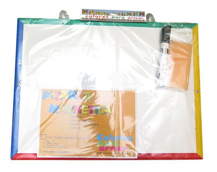 Children\'s - Pizarron Pizarra magnetica con marco pvc con borrador y ...