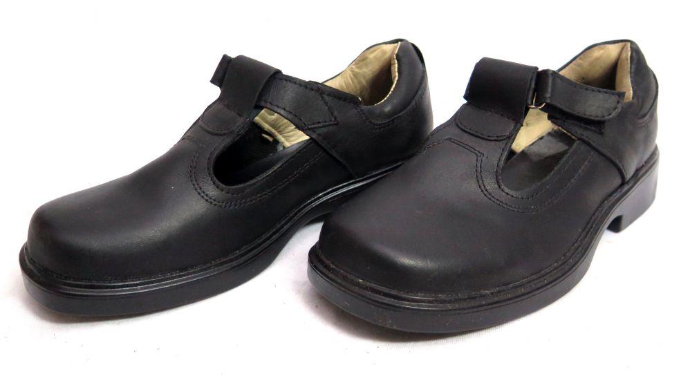 92a9e0ee Children's - Zapato Colegial Guillermina Con Velcro