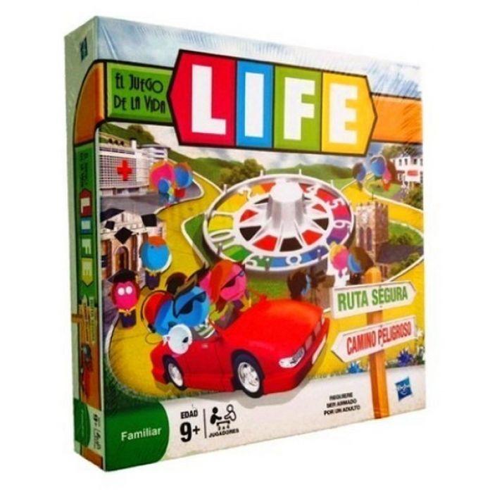 Children S Hasbro Juego De Mesa Life El Juego De La Vida Familiar
