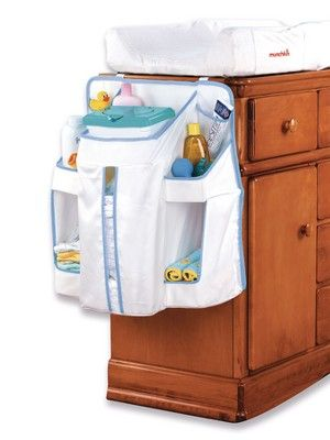 Children 39 s munchkin 10047 organizador para cuna o practicuna diaper change organizer para panales - Organizador de cuna ...