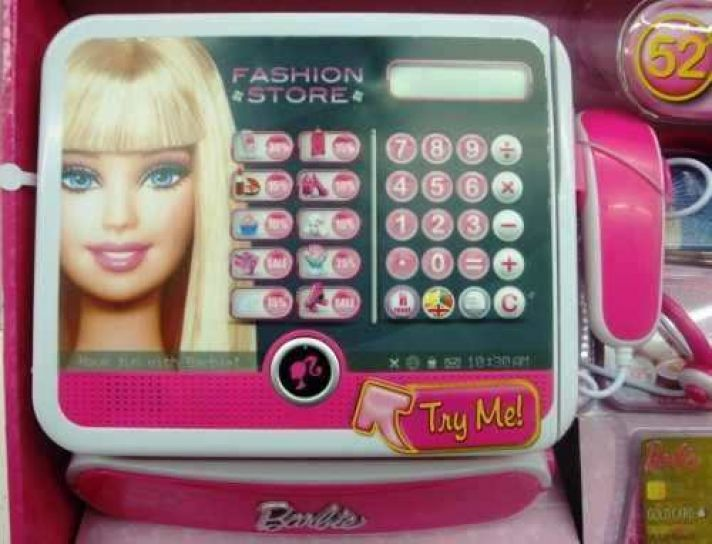 Barbie - Caja registradora Fashion (Lexibook RPB554) 83